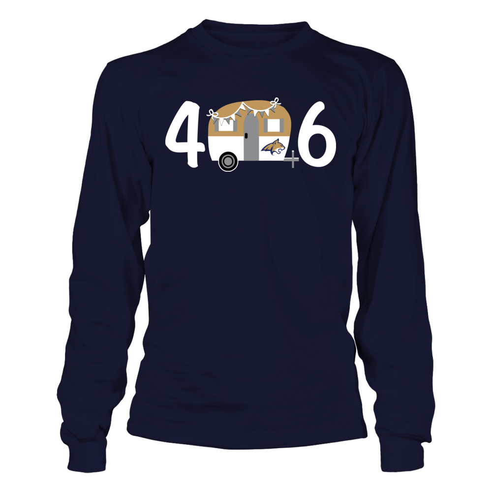 Montana State Bobcats - Area Code Vintage Camping Car Front picture