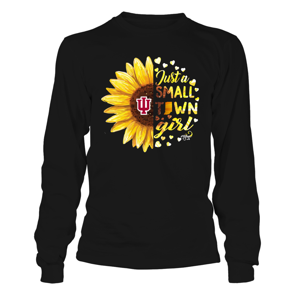 Indiana Hoosiers - Half Sunflower - Small Town Girl Front picture