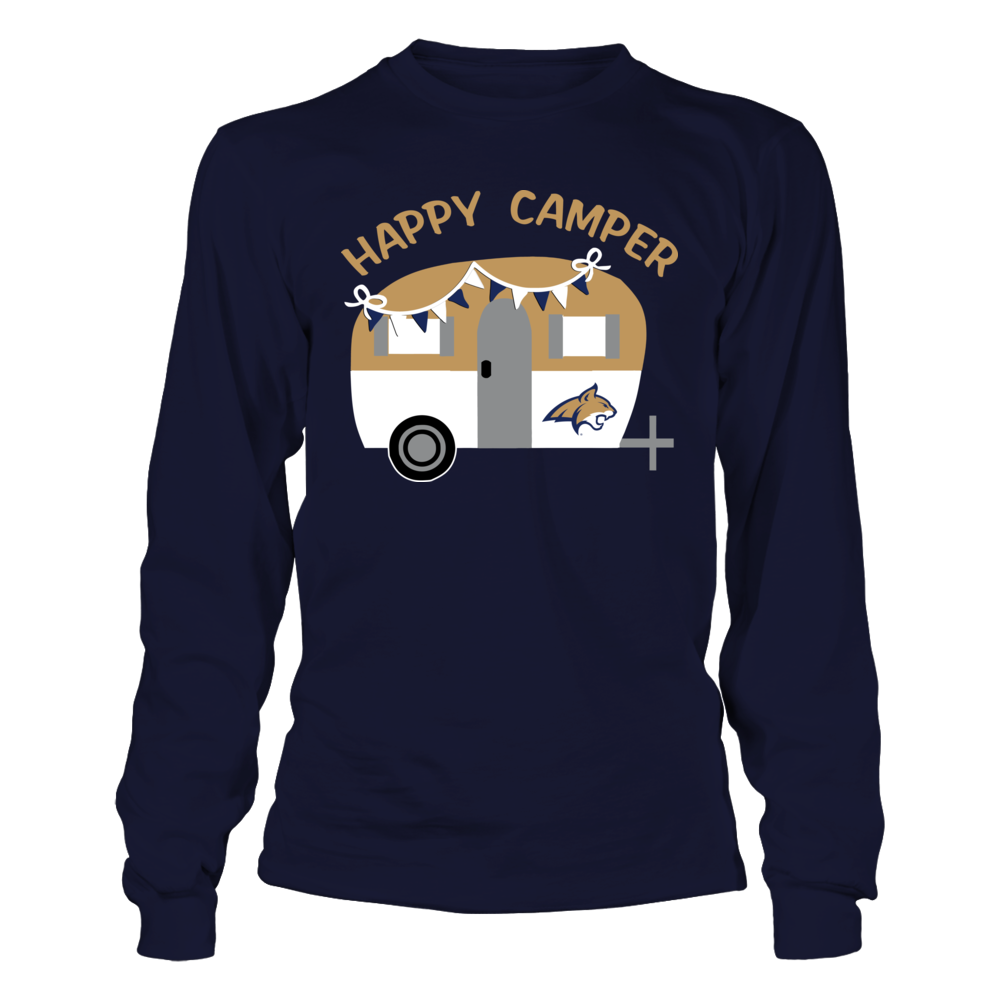 Montana State Bobcats - Camping - Vintage Camping Car Front picture
