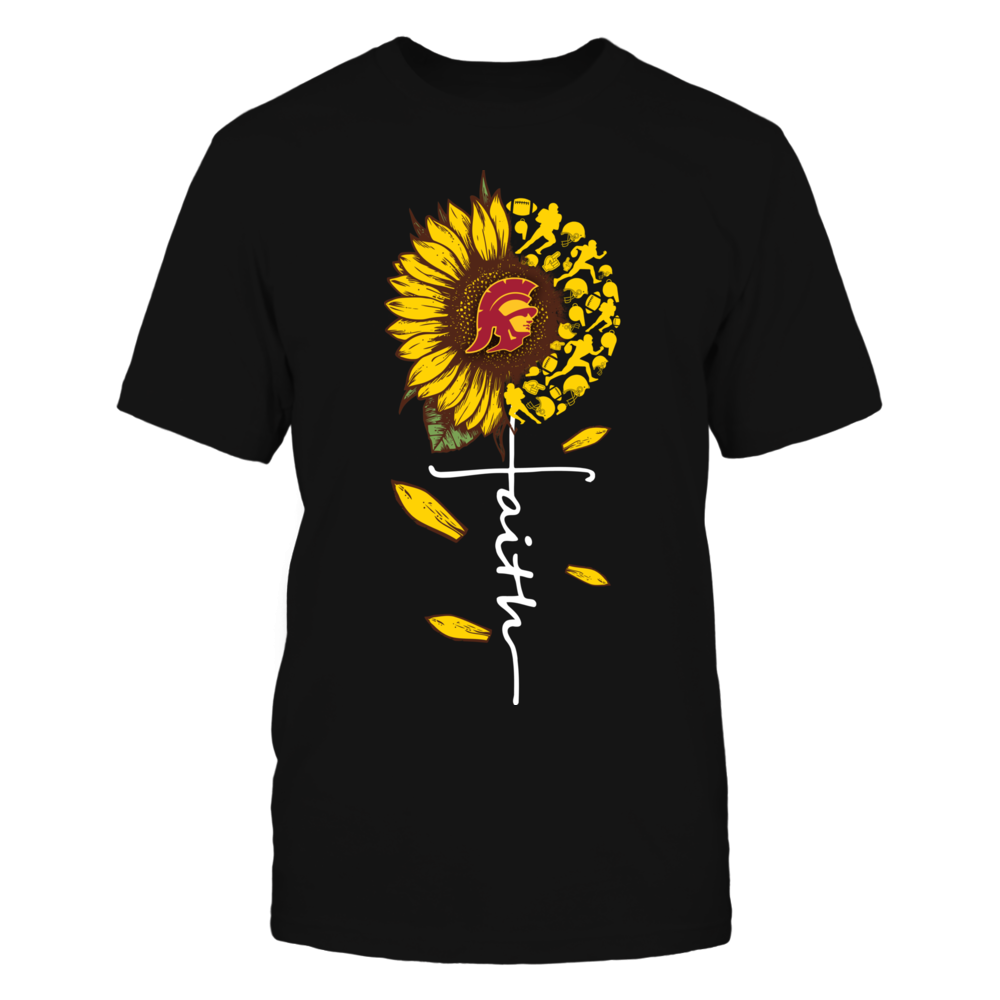 USC Trojans - Sunflower Of Things - Faith In Cross Shape - Football Front picture