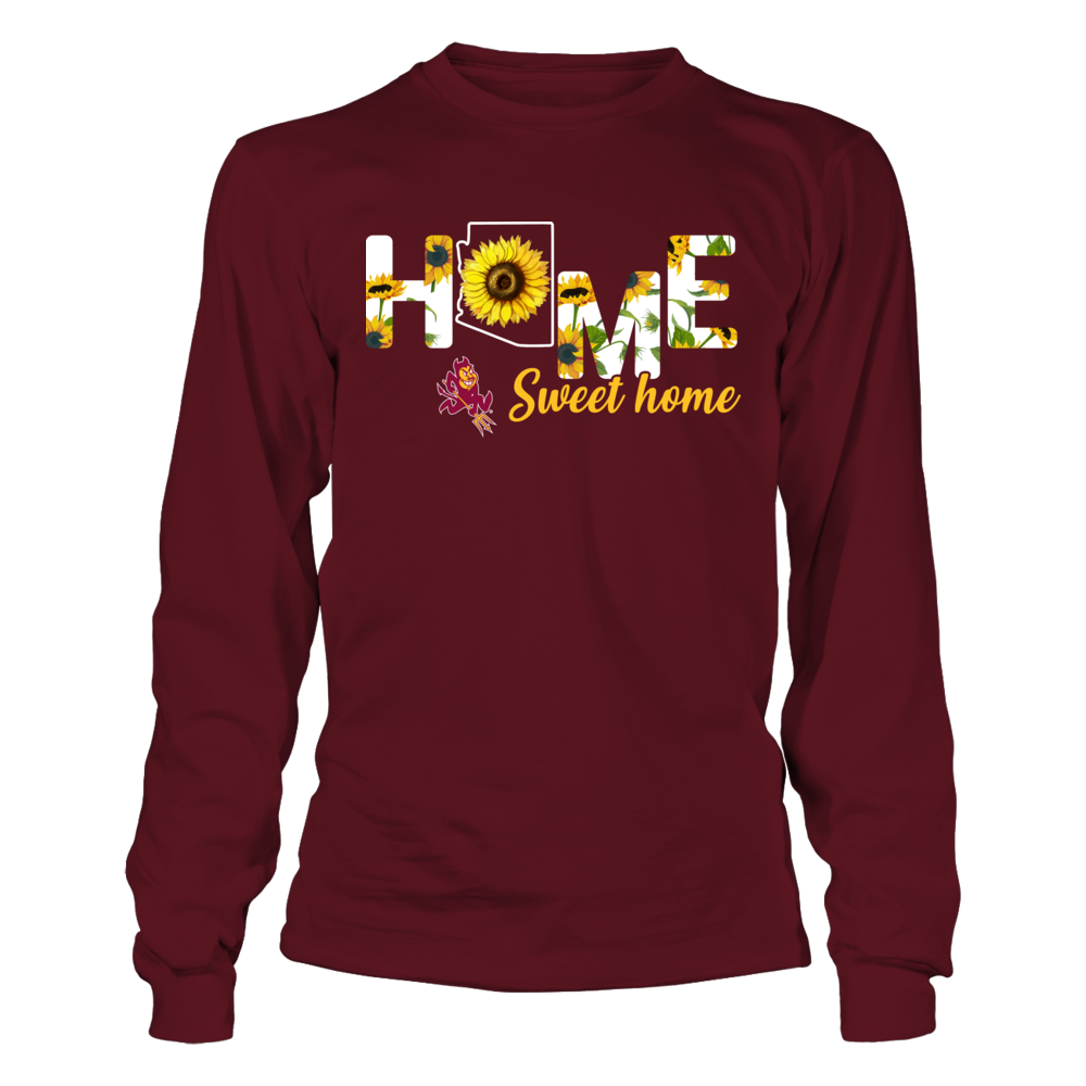 Arizona State Sun Devils - Home Sweet Home - Sunflower Pattern Front picture