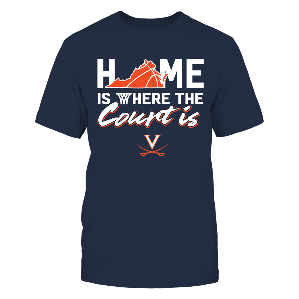 Virginia Cavaliers - Home Is Where The Court Is Front picture