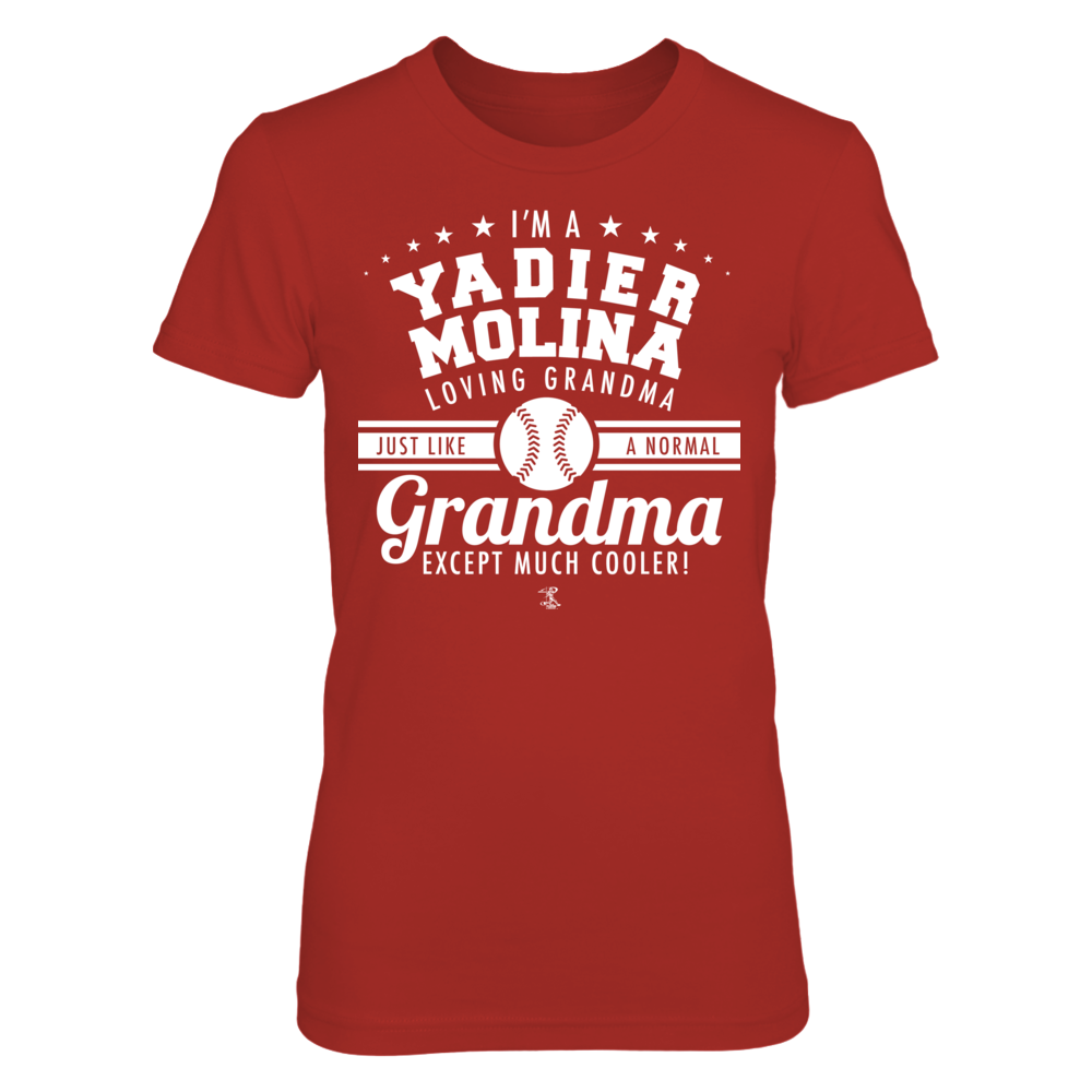 Yadier Molina - Like A Normal Grandma Except Cooler Front picture
