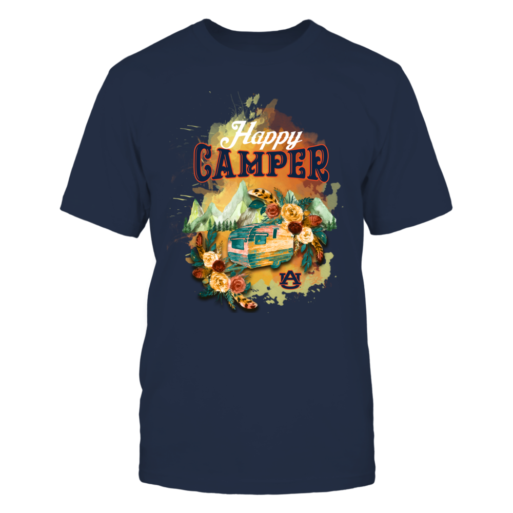Auburn Tigers - Happy Campers Vintage Camping Car Front picture