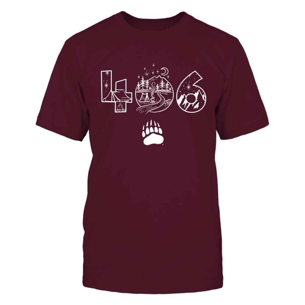 Montana Grizzlies - Area Code Camping Night Front picture