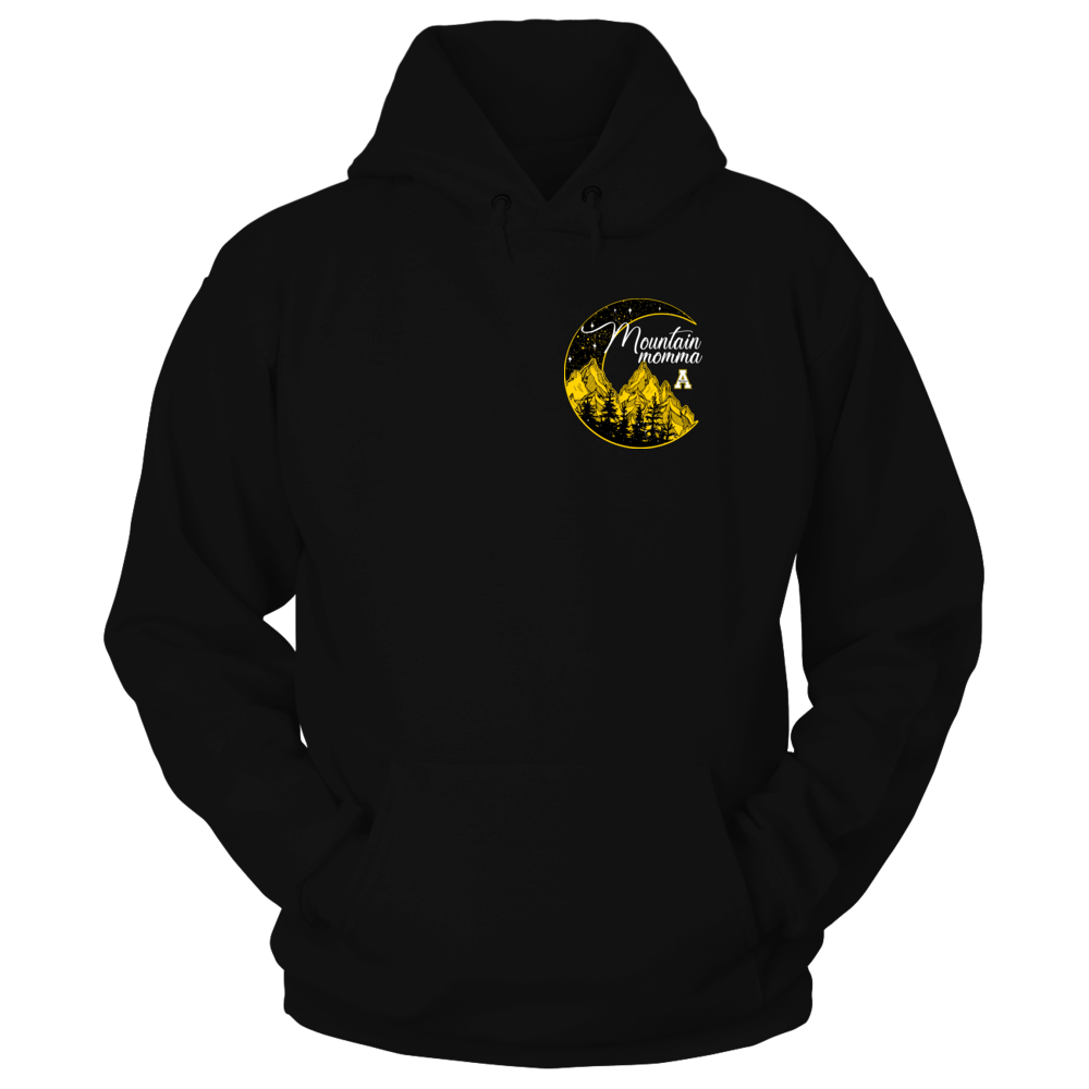 Appalachian State Mountaineers - Mountain Momma Moon - Pocket Design Front picture