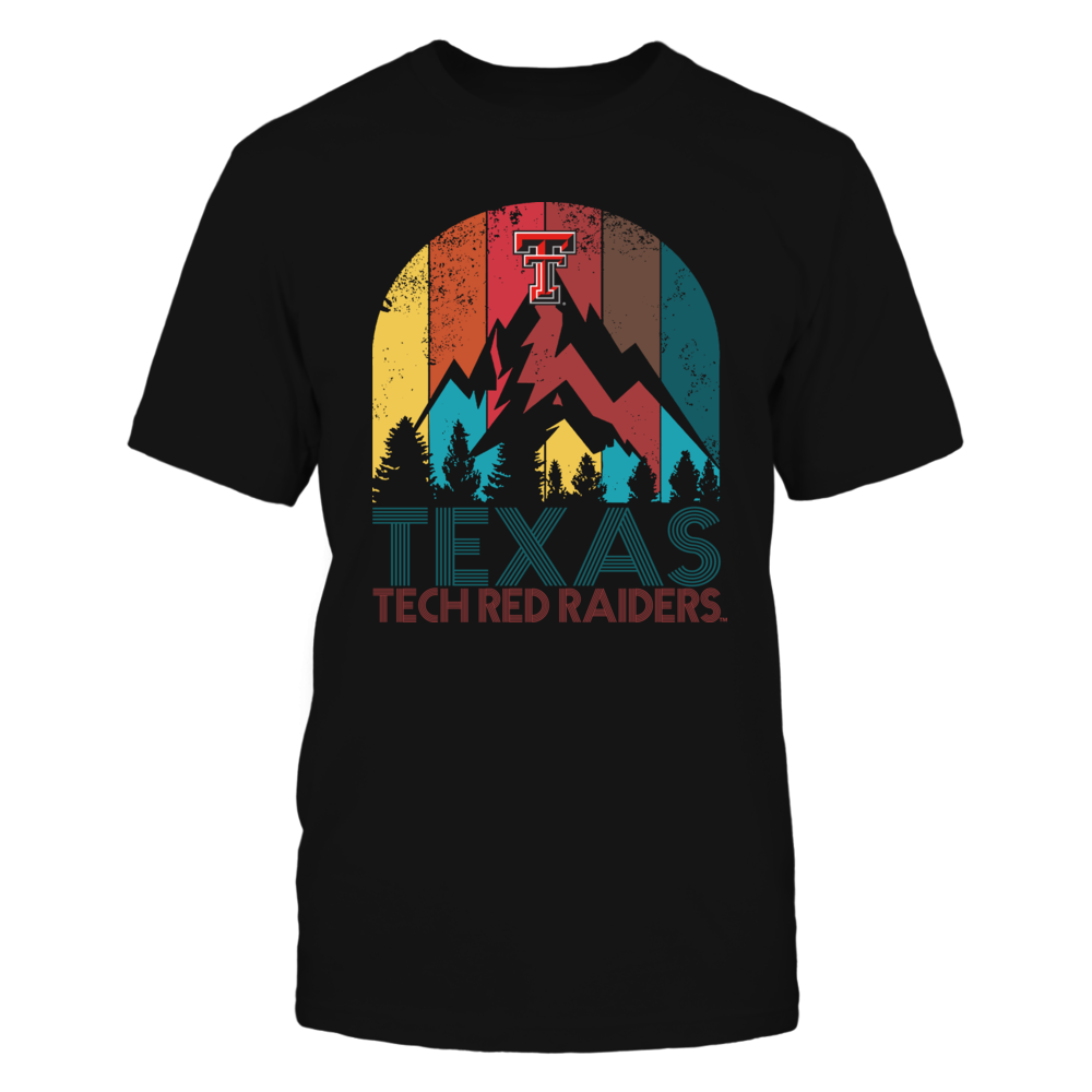 Texas Tech Red Raiders - Texas State Retro Style Front picture