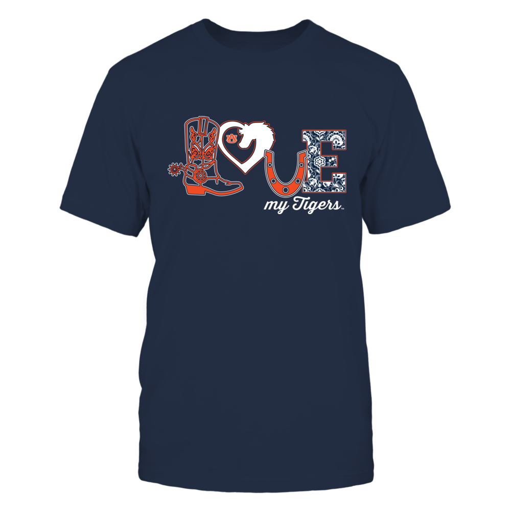 Auburn Tigers - Equestrian - Love Boot - Ver 2 Front picture