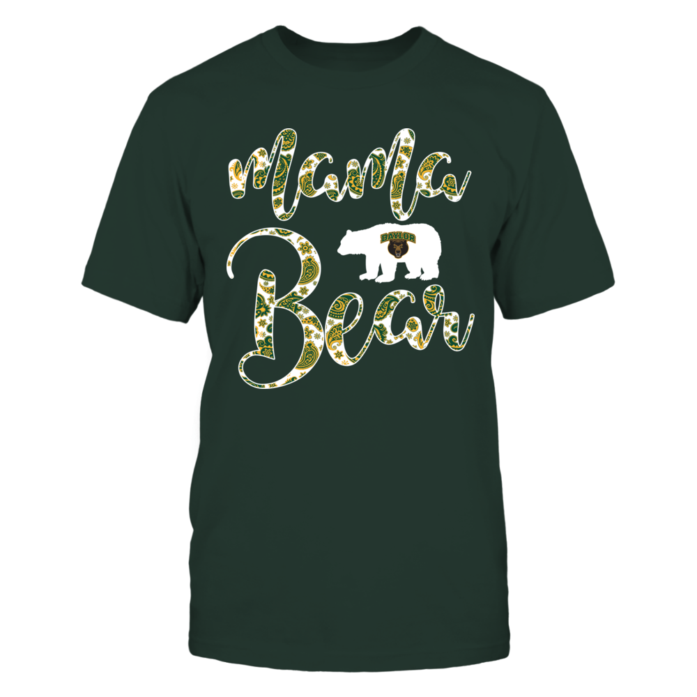 Baylor Bears - Mama Mascot - Paisley Pattern Front picture