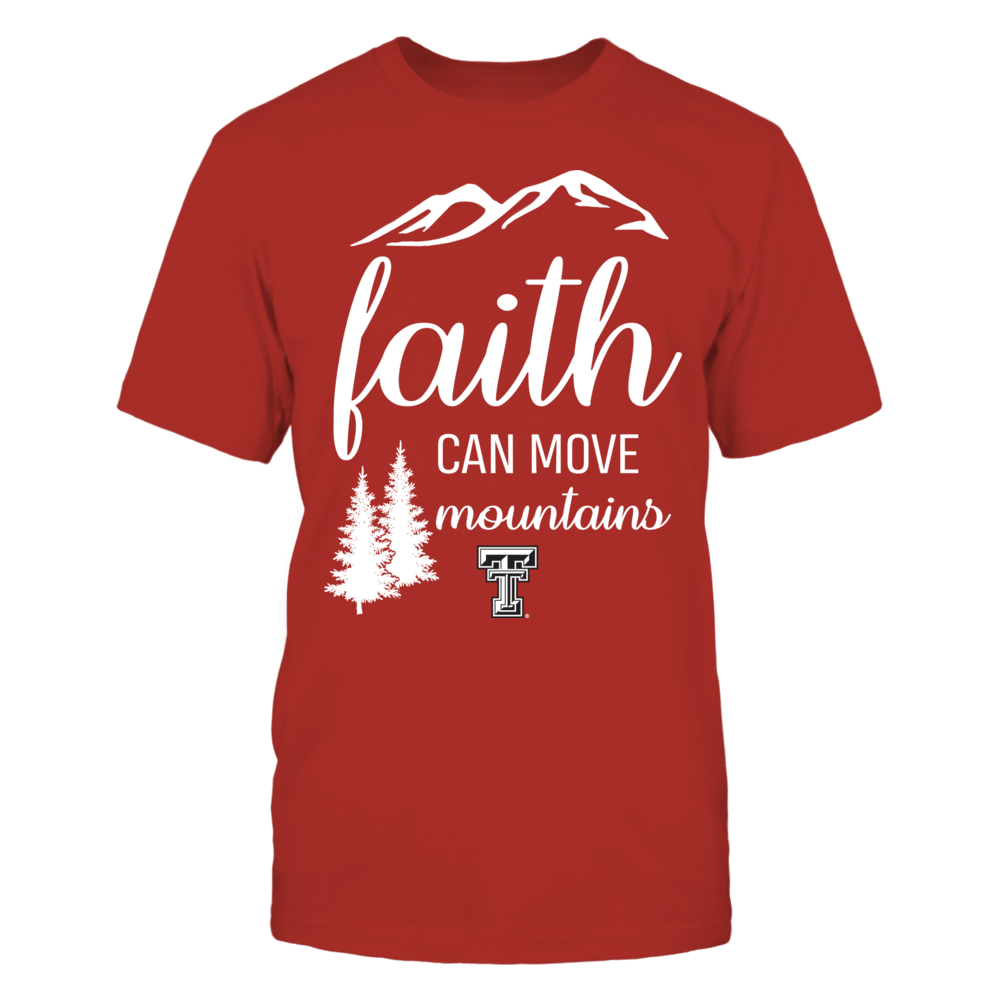 Texas Tech Red Raiders - Faith Can Move Mountains Front picture