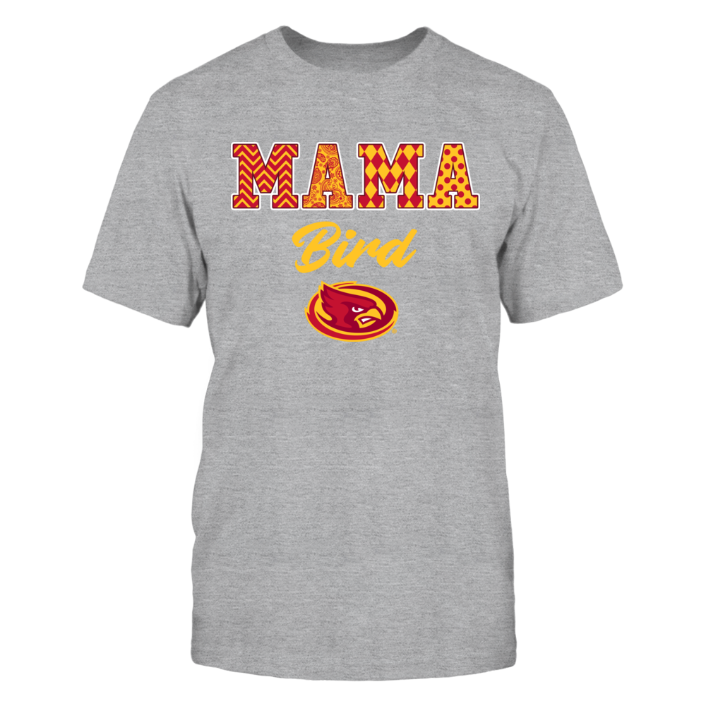 Iowa State Cyclones - Patterned Letters - Mama Mascot Front picture