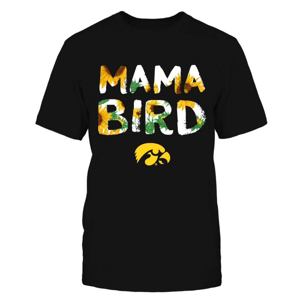 Iowa Hawkeyes - Mama Mascot - Sunflower Pattern Front picture