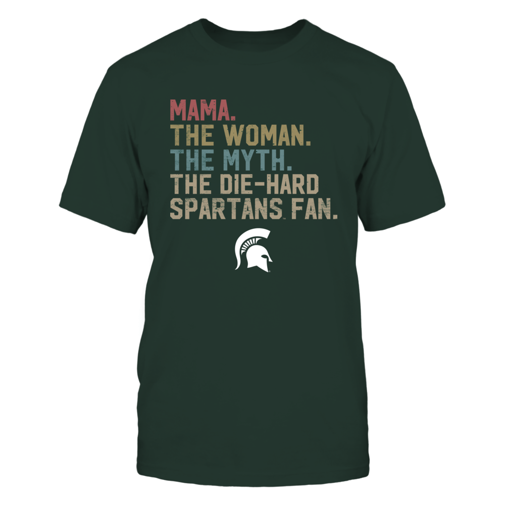 Michigan State Spartans - The Woman - Myth - Legend - Retro Style - Mama Front picture