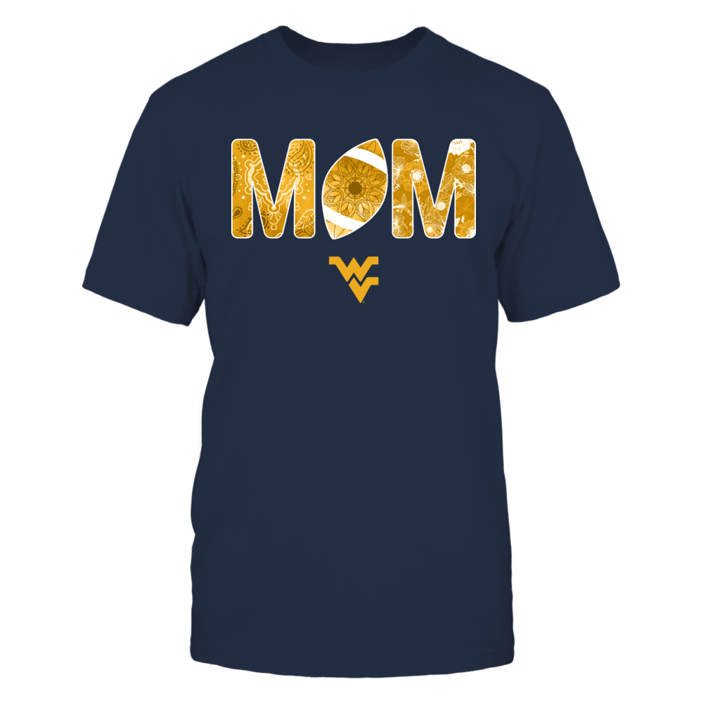 West Virginia Mountaineers - Mom And Football Front picture