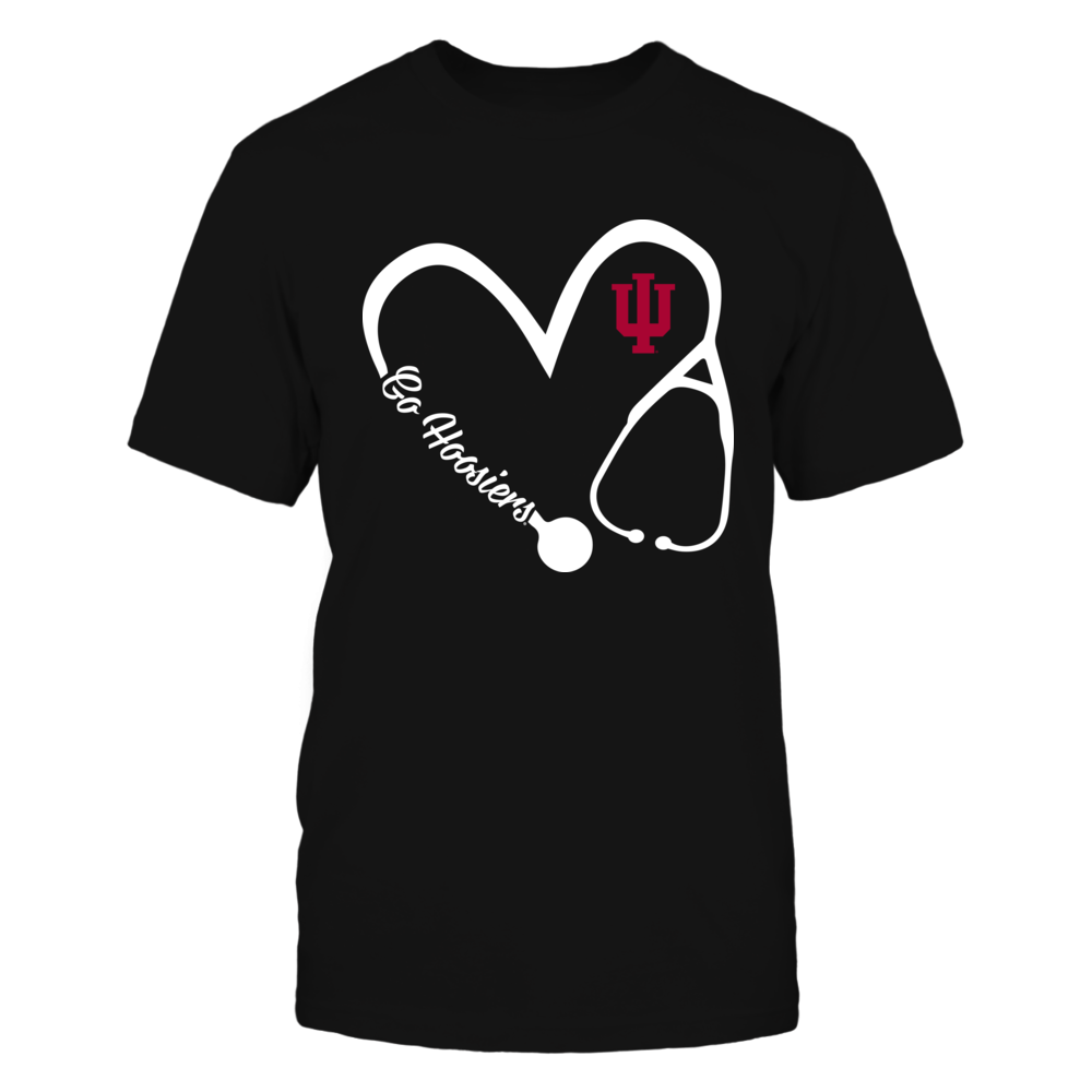 Indiana Hoosiers - Heart 3/4 - Nurse Front picture