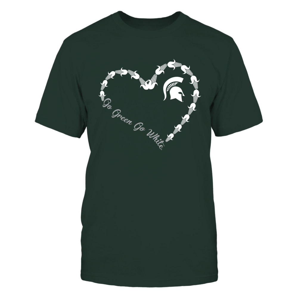 Michigan State Spartans - Corn Heart Front picture