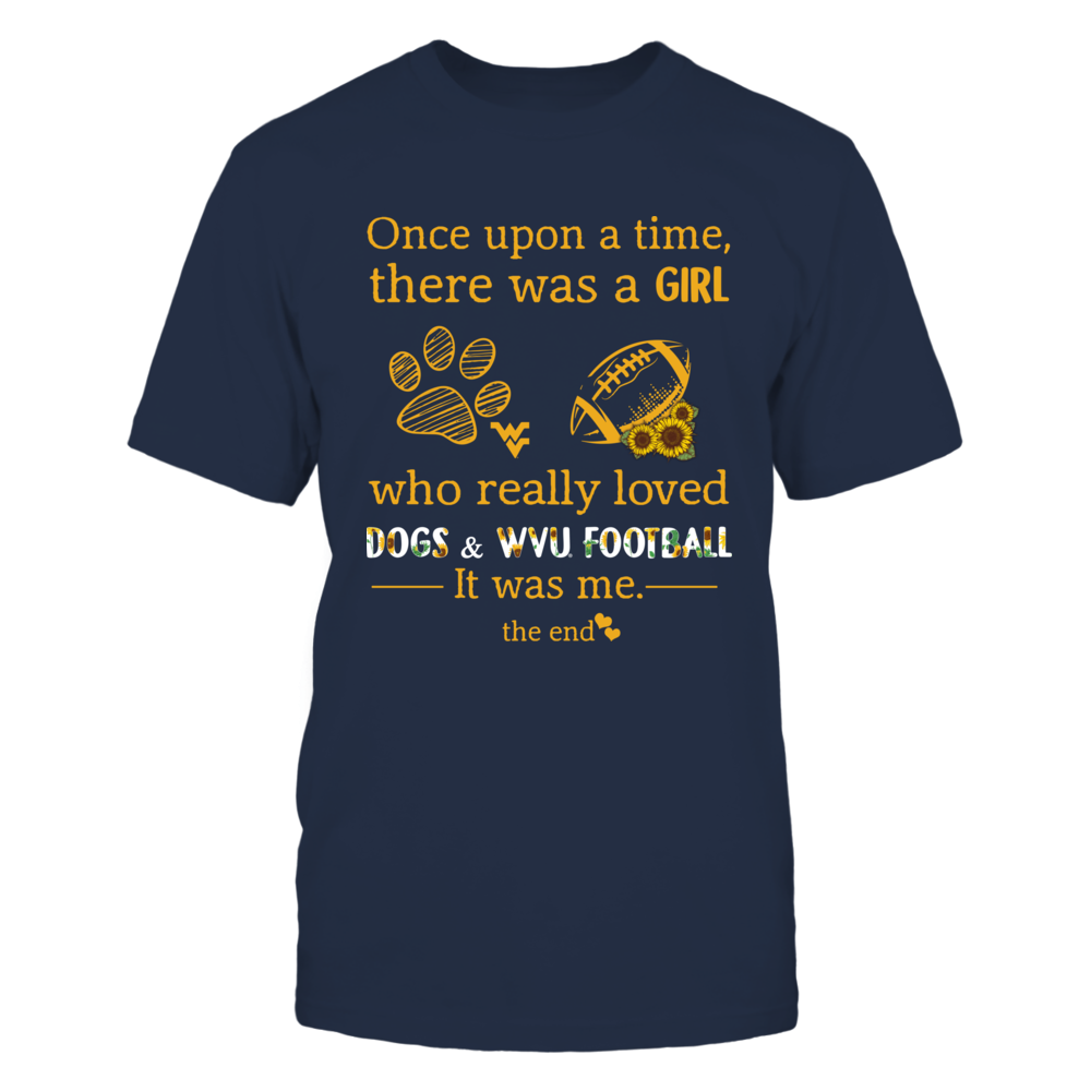 West Virginia Mountaineers - Once Apon A Time - Dogs Front picture