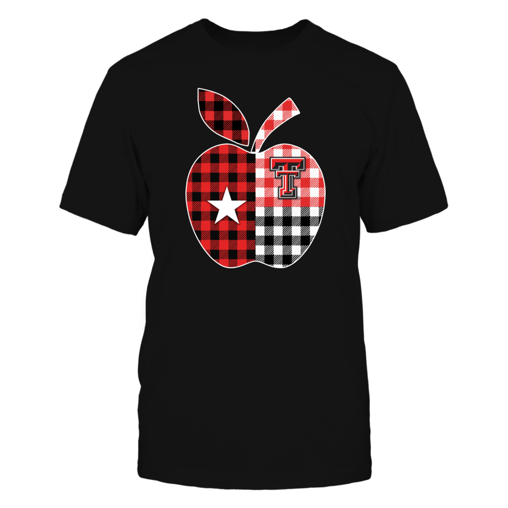 Texas Tech Red Raiders - Teacher - Texas Apple Checkered Patterned Front picture