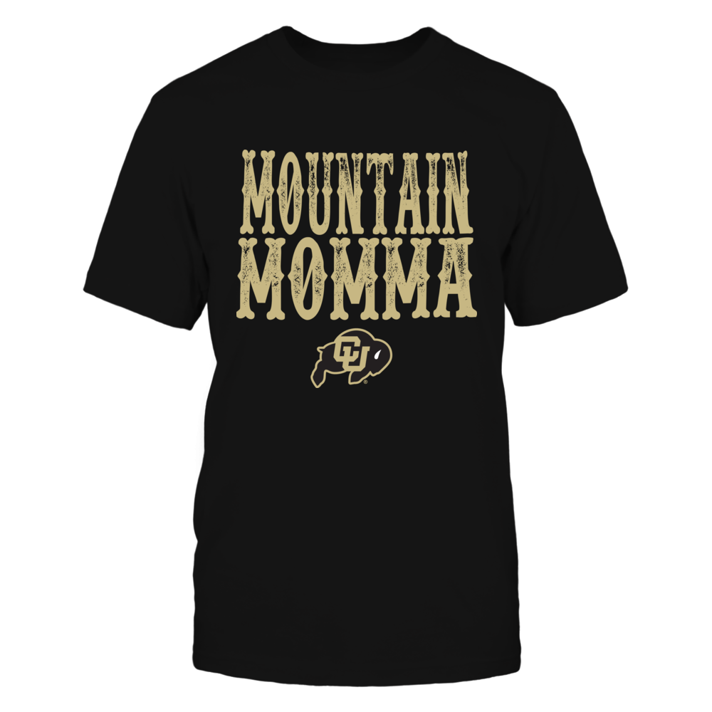 Colorado Buffaloes - Mountain Momma Insidie State Map Front picture