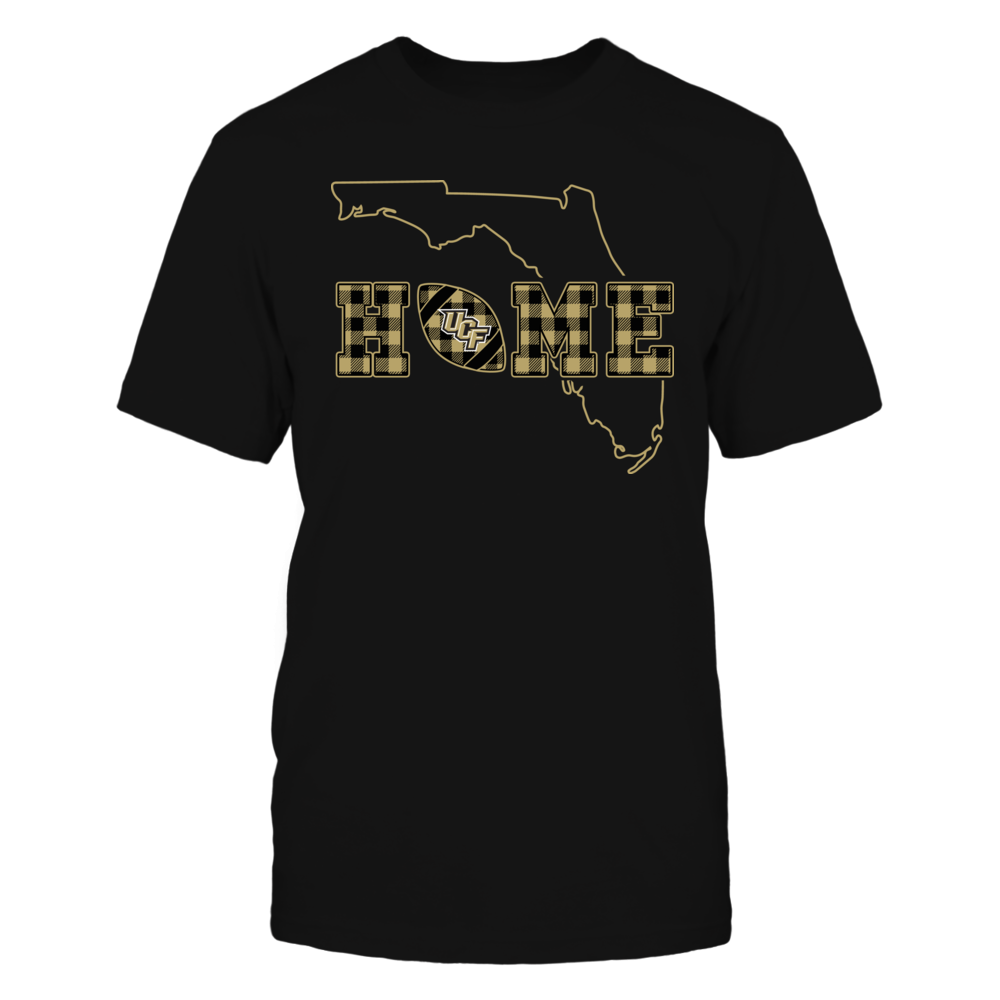 UCF Knights - Home Football - State Outline - Checkered Pattern Front picture
