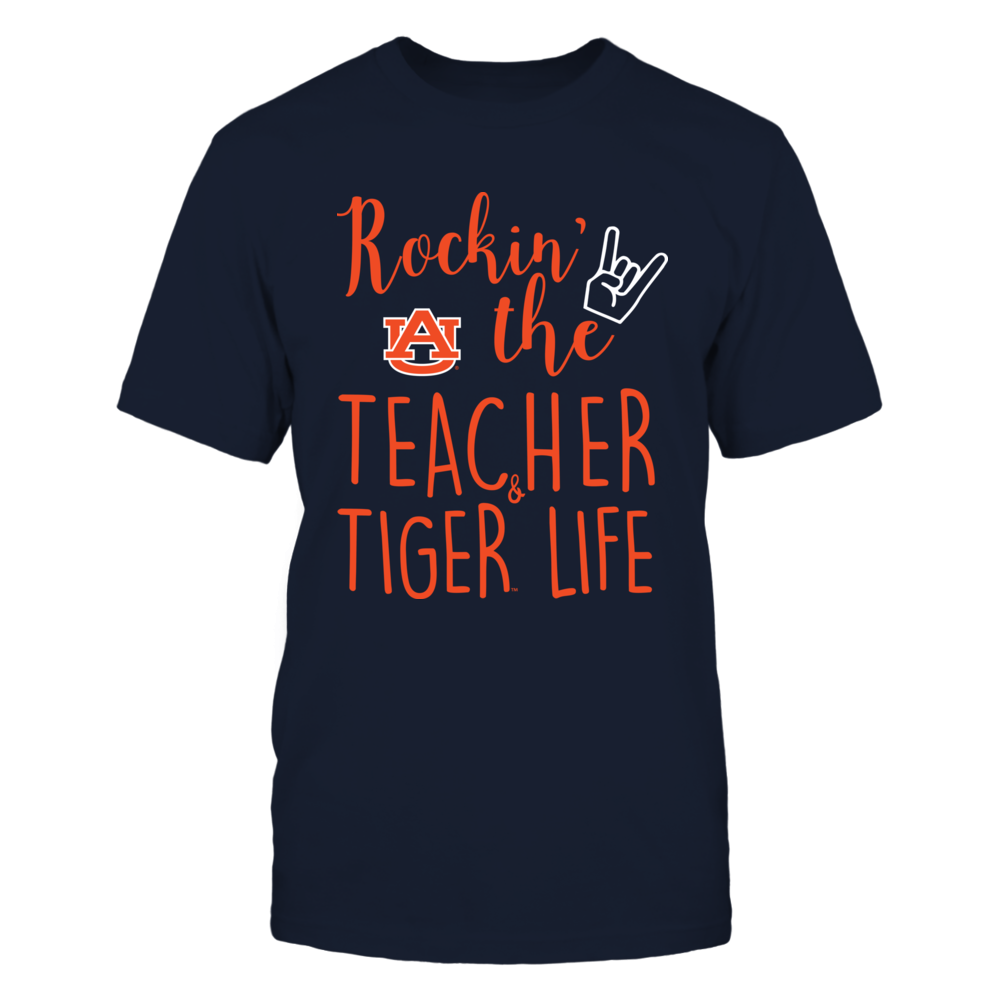 Auburn Tigers - Teacher - Rockin The Teacher And Fan Life Front picture