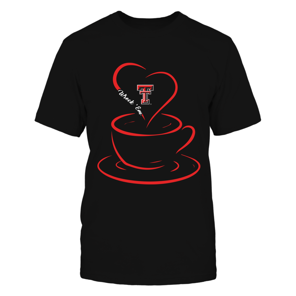 Texas Tech Red Raiders - Coffee - Heart Coffee Front picture