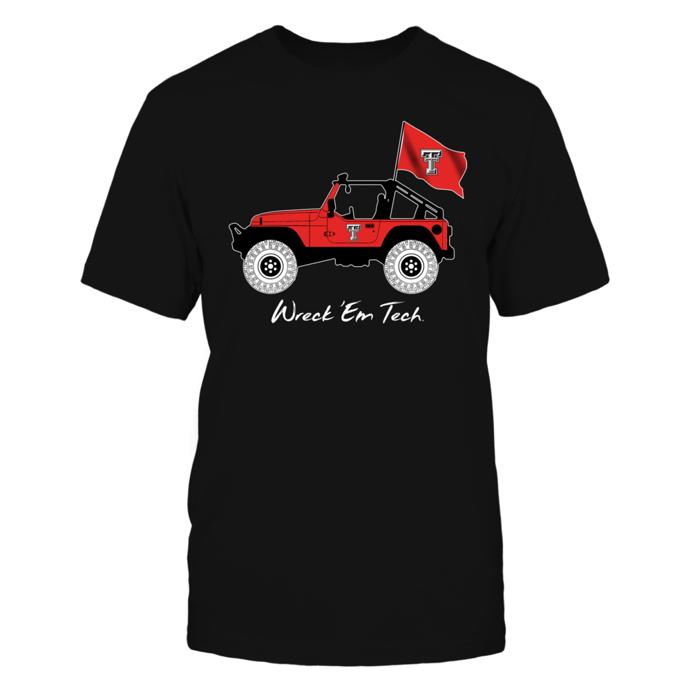 Texas Tech Red Raiders - Jeep - Jeep Car - IF-IC13-DS45 Front picture