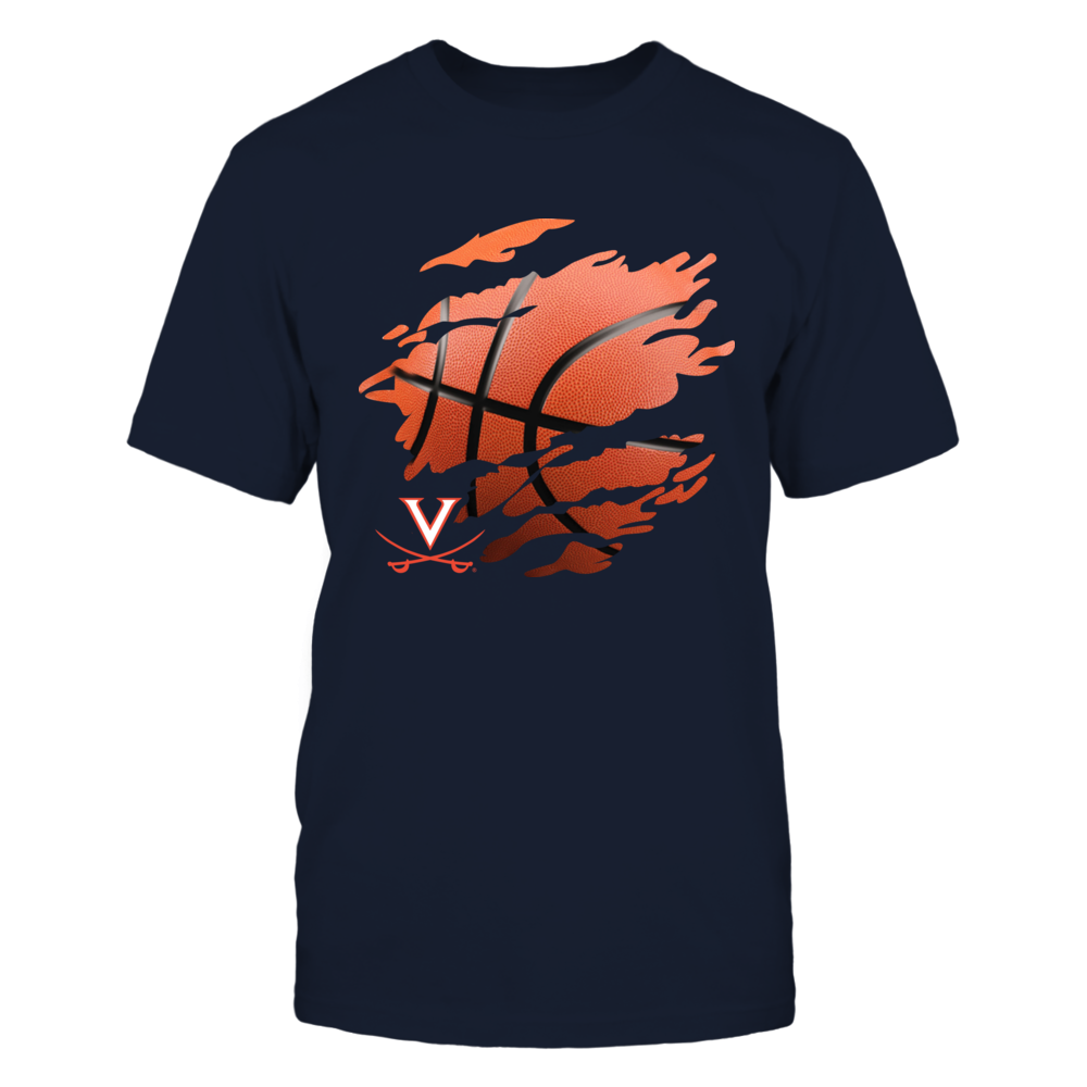 Virginia Cavaliers - Scratch Basketball Front picture