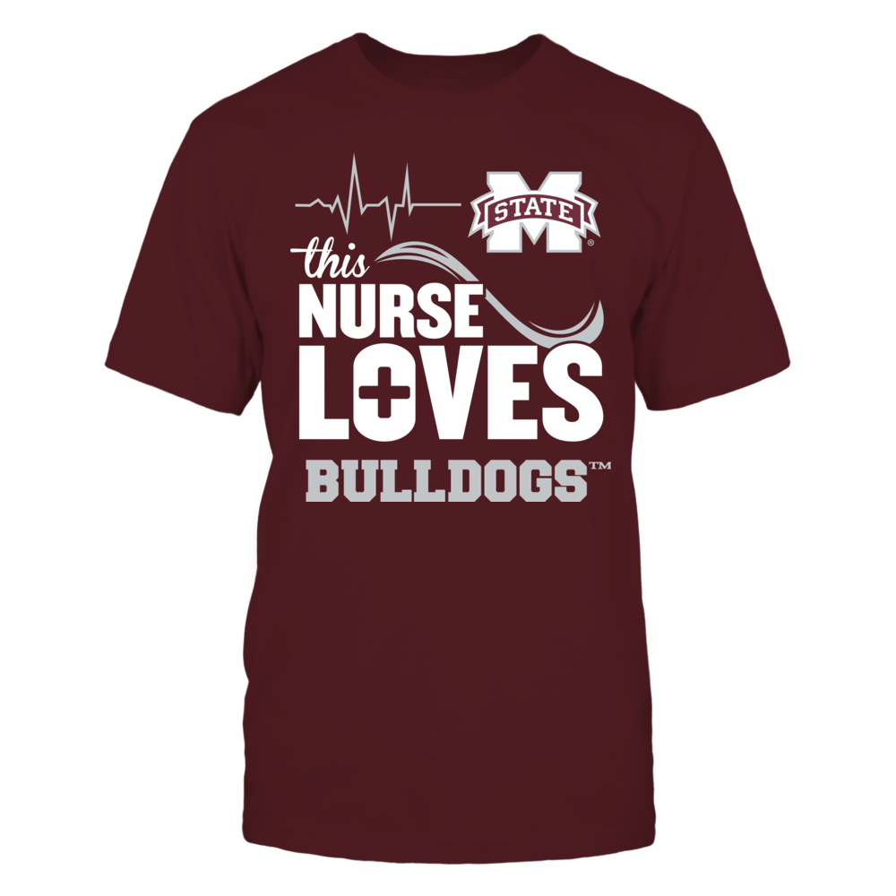 Mississippi State Bulldogs - This Nurse Loves Front picture