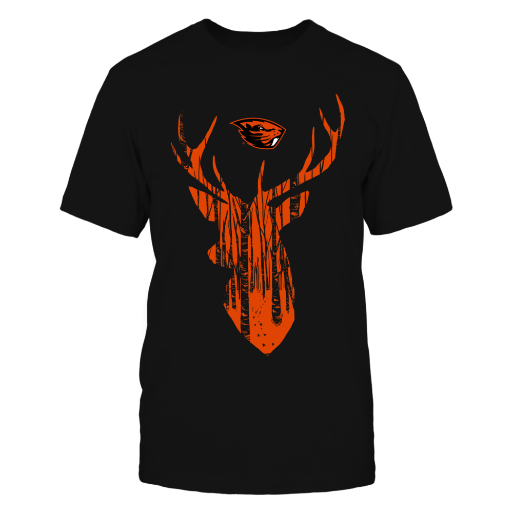 Oregon State Beavers - Hunting Forest Deer Front picture