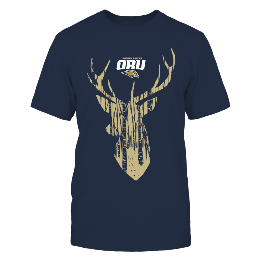 Oral Roberts Golden Eagles - Hunter Forest Deer Front picture