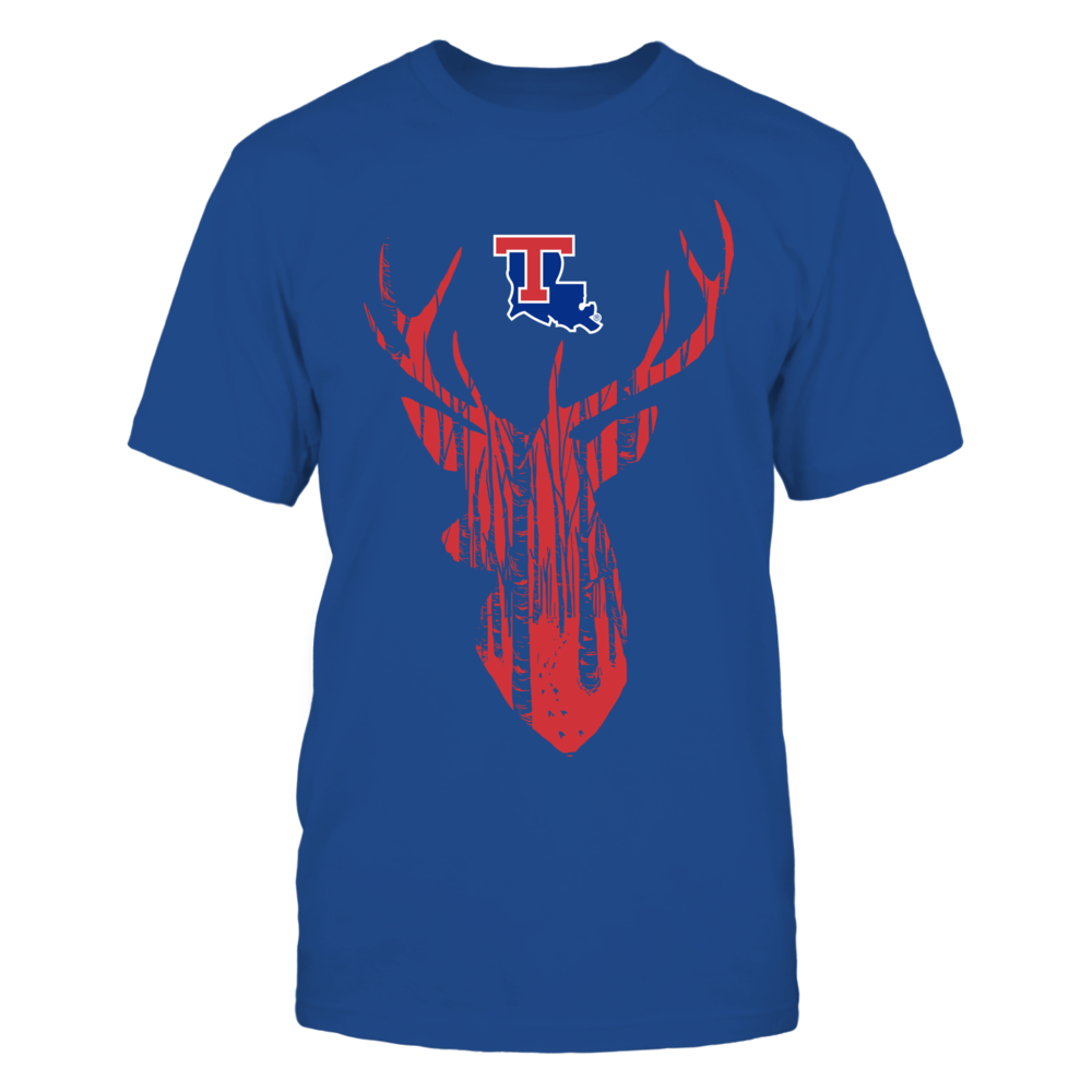 Louisiana Tech Bulldogs - Hunter Forest Deer Front picture