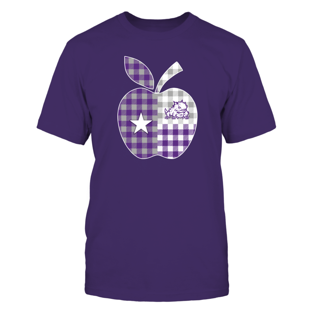 TCU Horned Frogs - Texas Apple Checkered Pattern Front picture