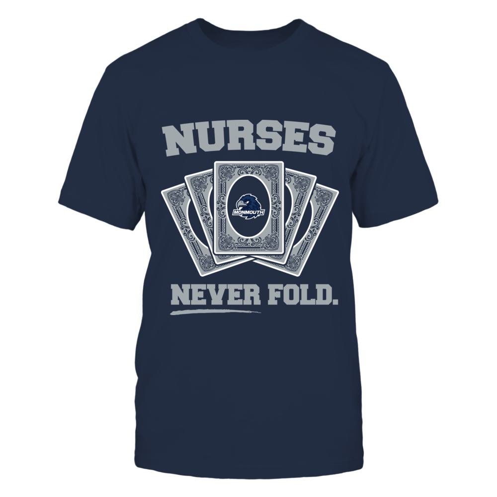 Monmouth Hawks - Nurses Never Fold Front picture