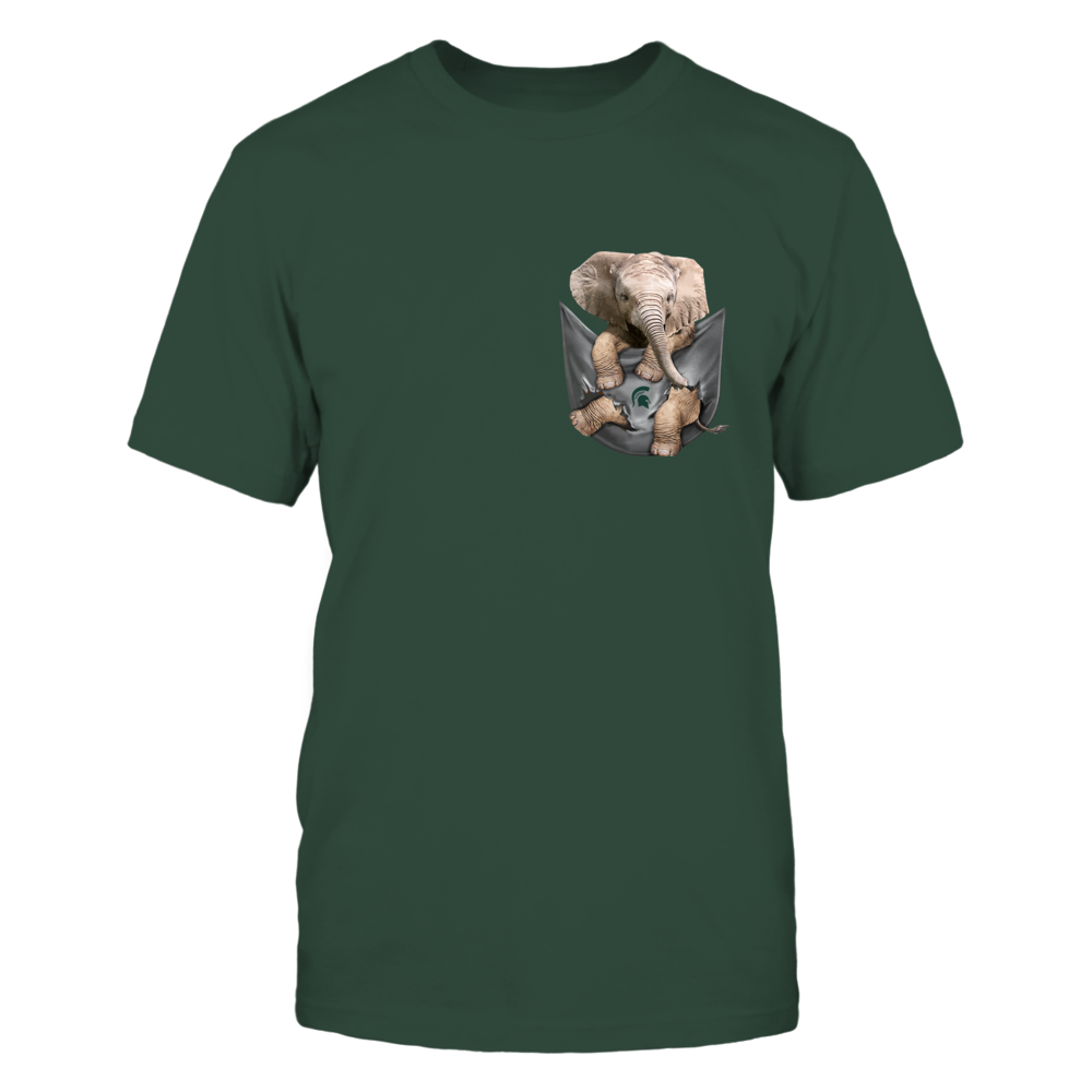 Michigan State Spartans - Elephant Pocket Scratch Front picture