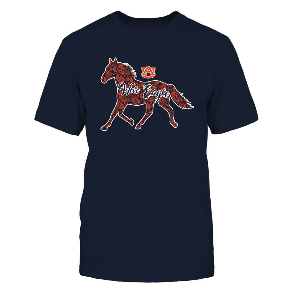 Auburn Tigers - Horse - Paisley Horse Front picture