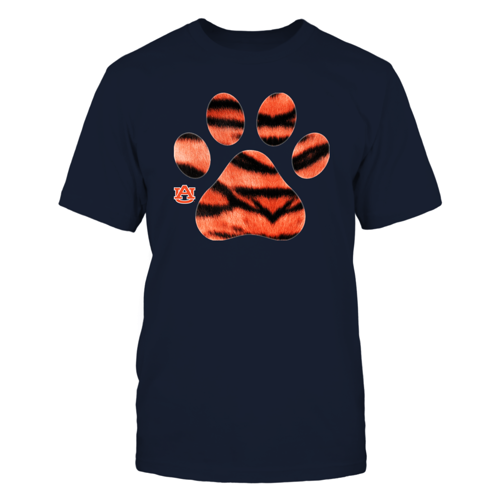 Auburn Tigers - Tiger Stripe Paw Front picture
