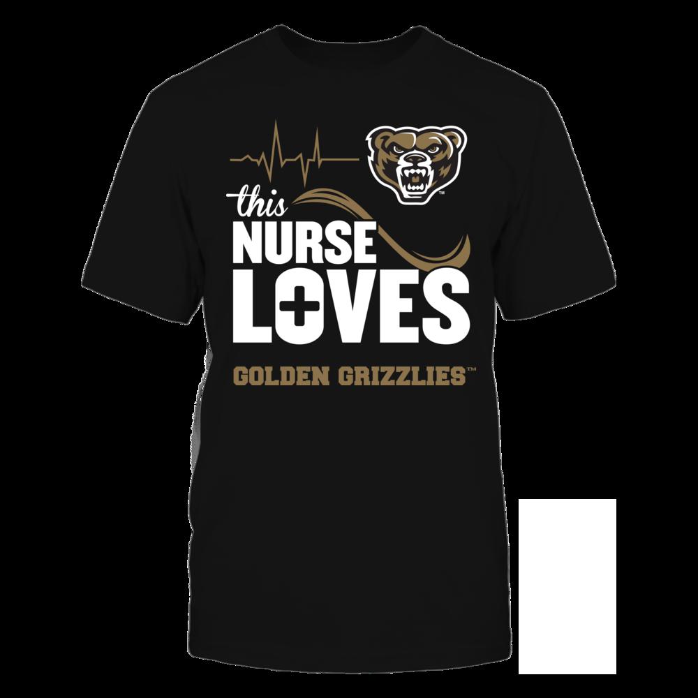 Oakland Golden Grizzlies - This Nurse Loves Front picture