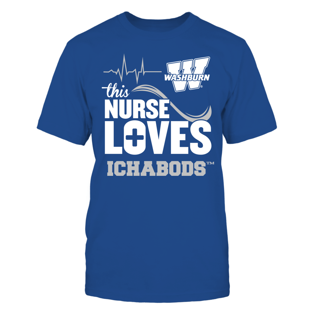 Washburn Ichabods - This Nurse Loves Front picture