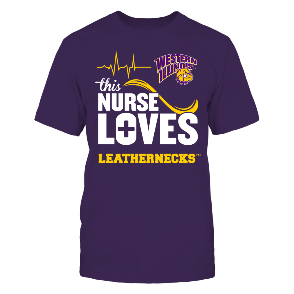 Western Illinois Leathernecks - This Nurse Loves Front picture