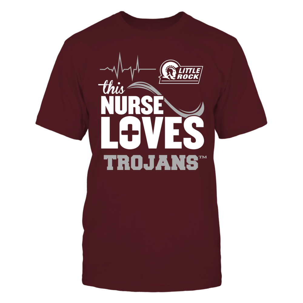 Arkansas Little Rock Trojans - This Nurse Loves Front picture