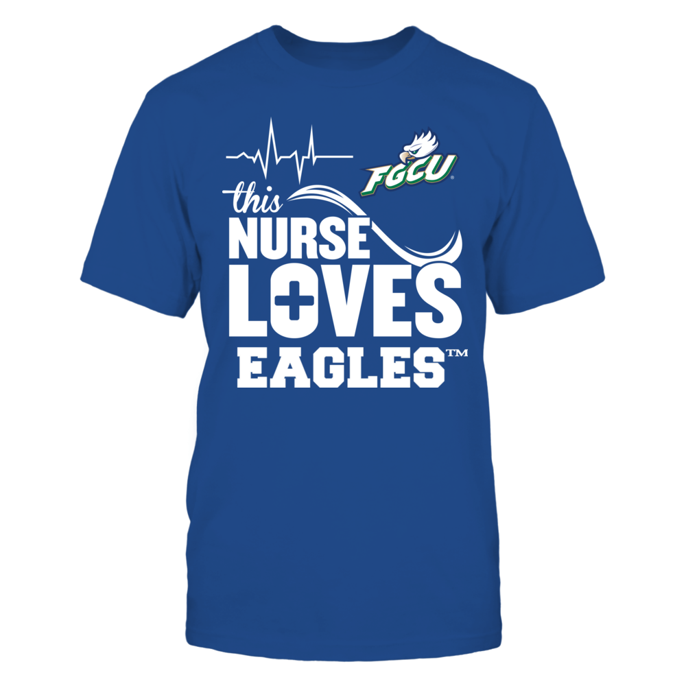 Florida Gulf Coast Eagles - This Nurse Loves Front picture