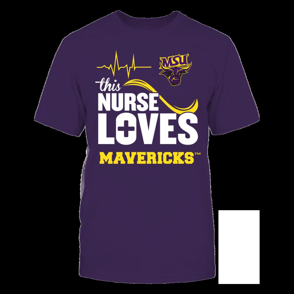 Minnesota State Mavericks - This Nurse Loves Front picture
