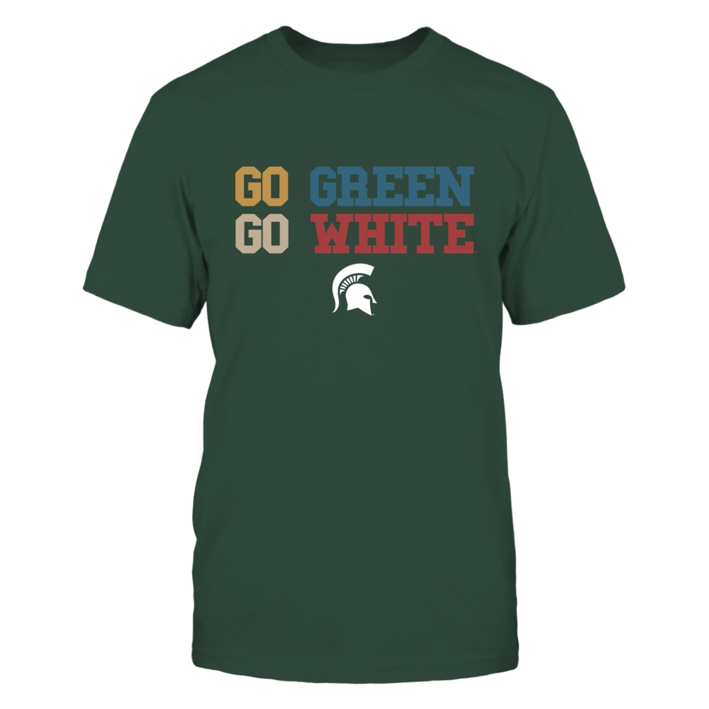 Michigan State Spartans - Team Slogan - Retro Style Front picture