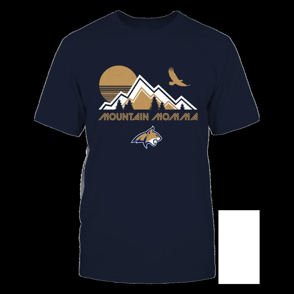 Montana State Bobcats - Retro Mountain - Mountain Momma Front picture
