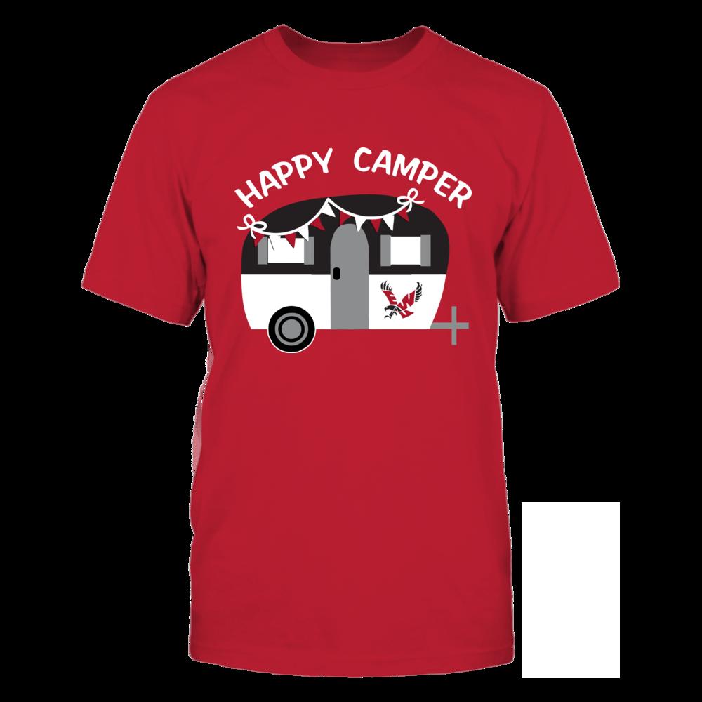 Eastern Washington Eagles - Vintage Camper - Red shirt Front picture