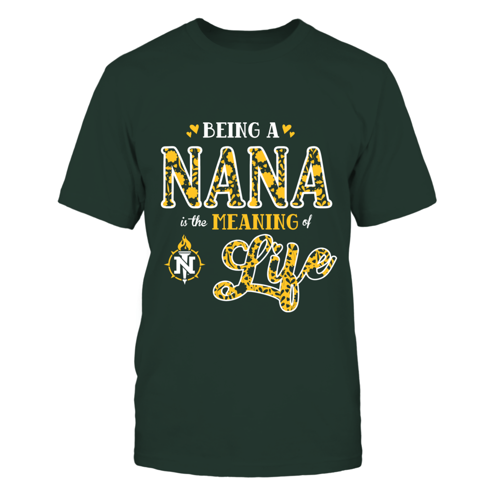 Northern Michigan Wildcats - Being a Nana is the Meaning of Life Front picture