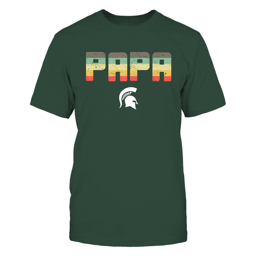 Michigan State Spartans - Papa Vintage Graphic Front picture