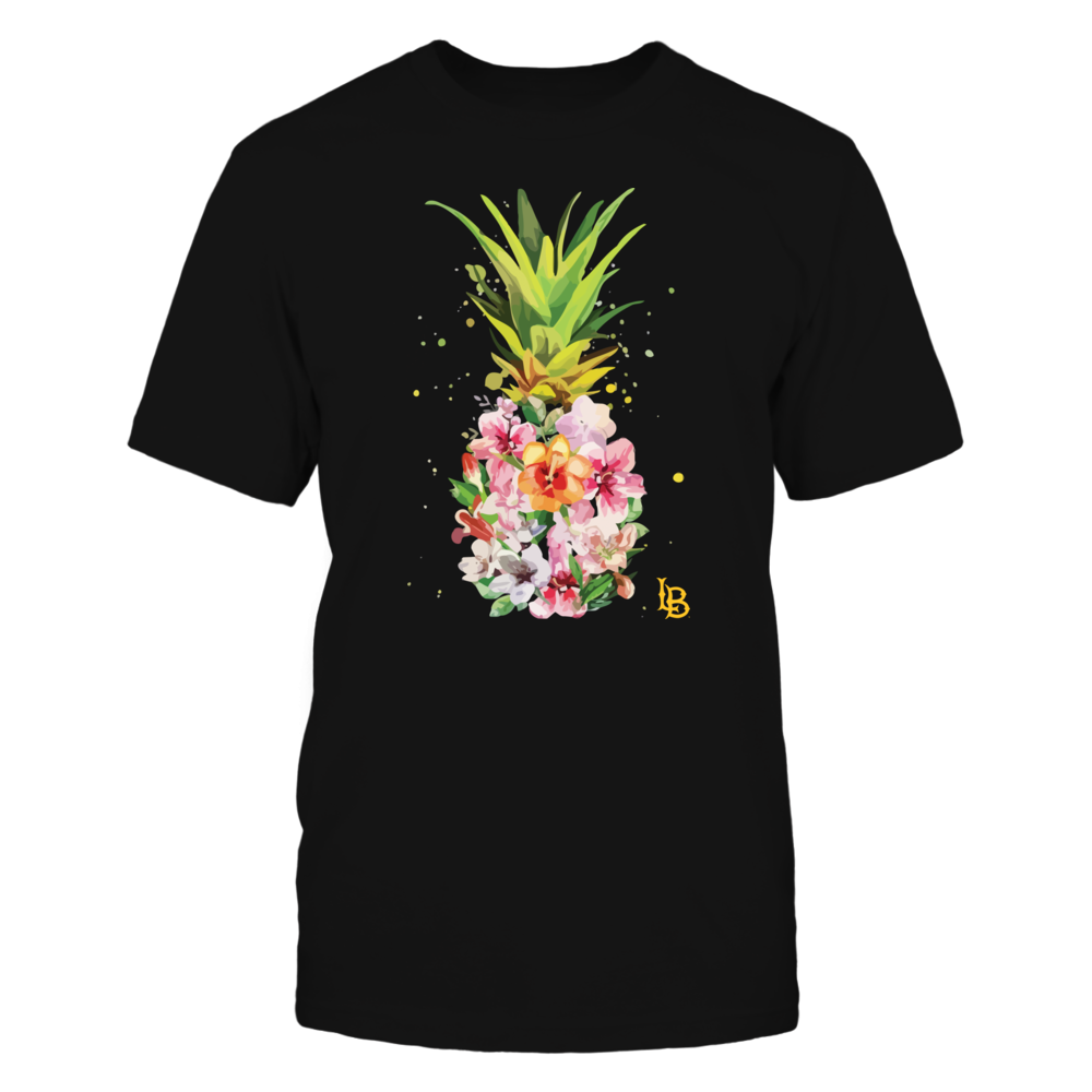 Long Beach State 49ers - Pineapple Flower Shirt Front picture