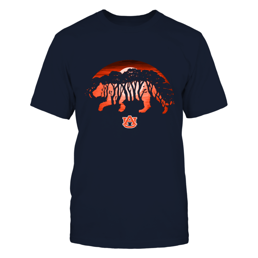 Auburn Tigers - Tiger Moon - Trees Front picture